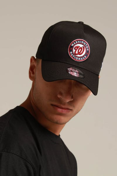 New Era Washington Nationals 9FORTY K-Frame Snapback Black/OTC