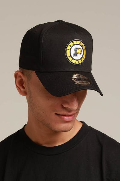 New Era Indiana Pacers 9FORTY K-Frame Snapback Black/OTC