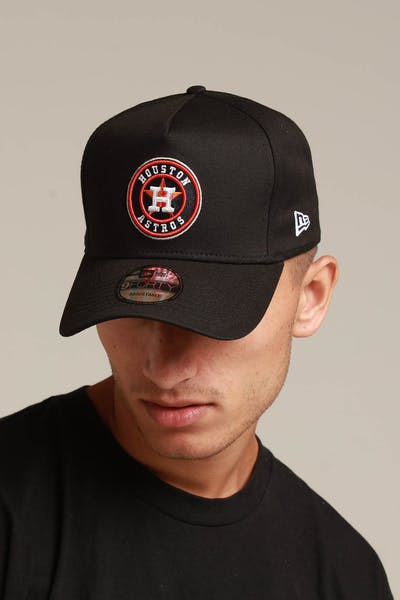 New Era Houston Astros 9FORTY K-Frame Snapback Black/OTC