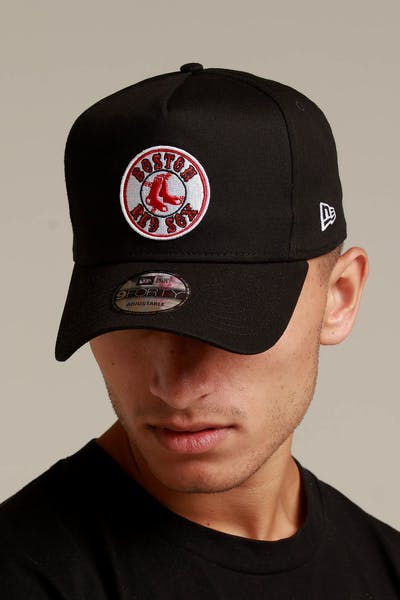 69285a6d83e ONE. Exclusive Fit. New Era Boston Red Sox 9FORTY K-Frame Snapback Black OTC
