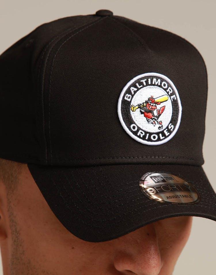 timeless design 2d5f6 52bb1 New Era Baltimore Orioles 9FORTY K-Frame Snapback Black OTC