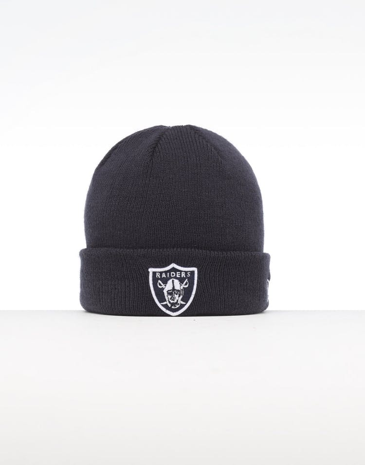 1e2891b1e51cb1 New Era Infant Raiders 6 Dart Cuff Beanie Navy/White – Culture Kings