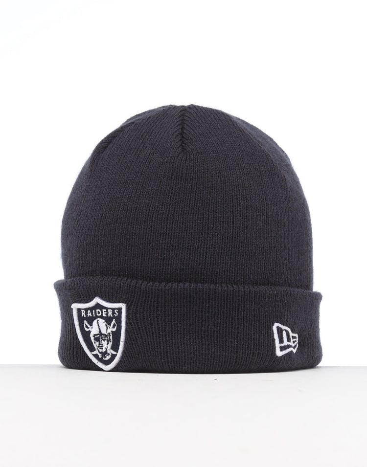 New Era Infant Raiders 6 Dart Cuff Beanie Navy/White