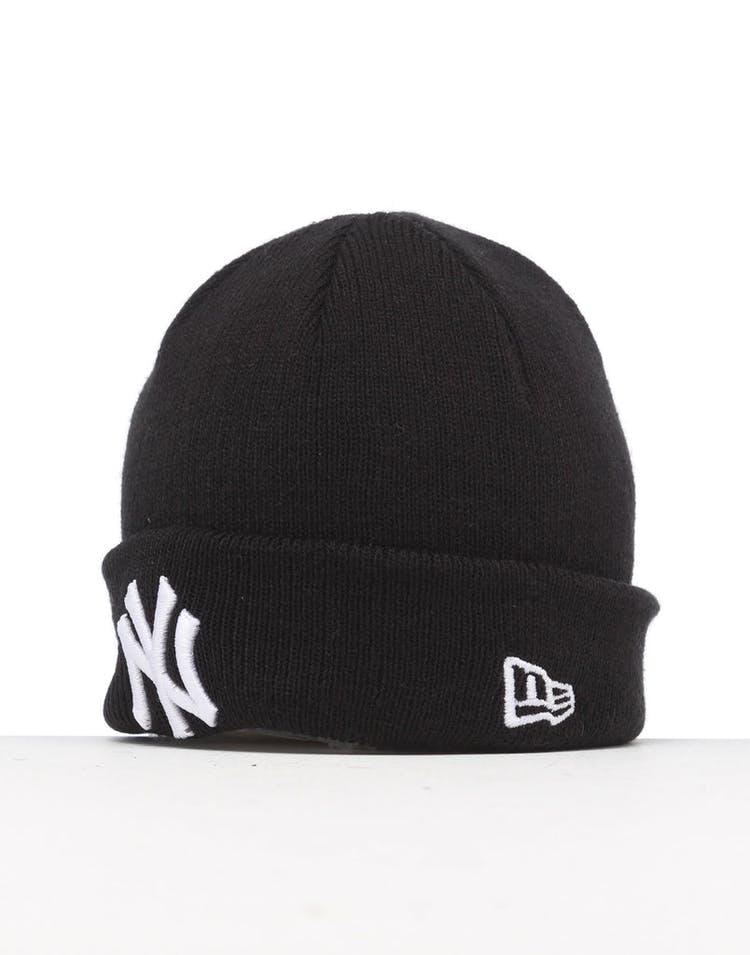 96e5140e New Era Infant New York Yankees 6 Dart Cuff Beanie Black/White ...