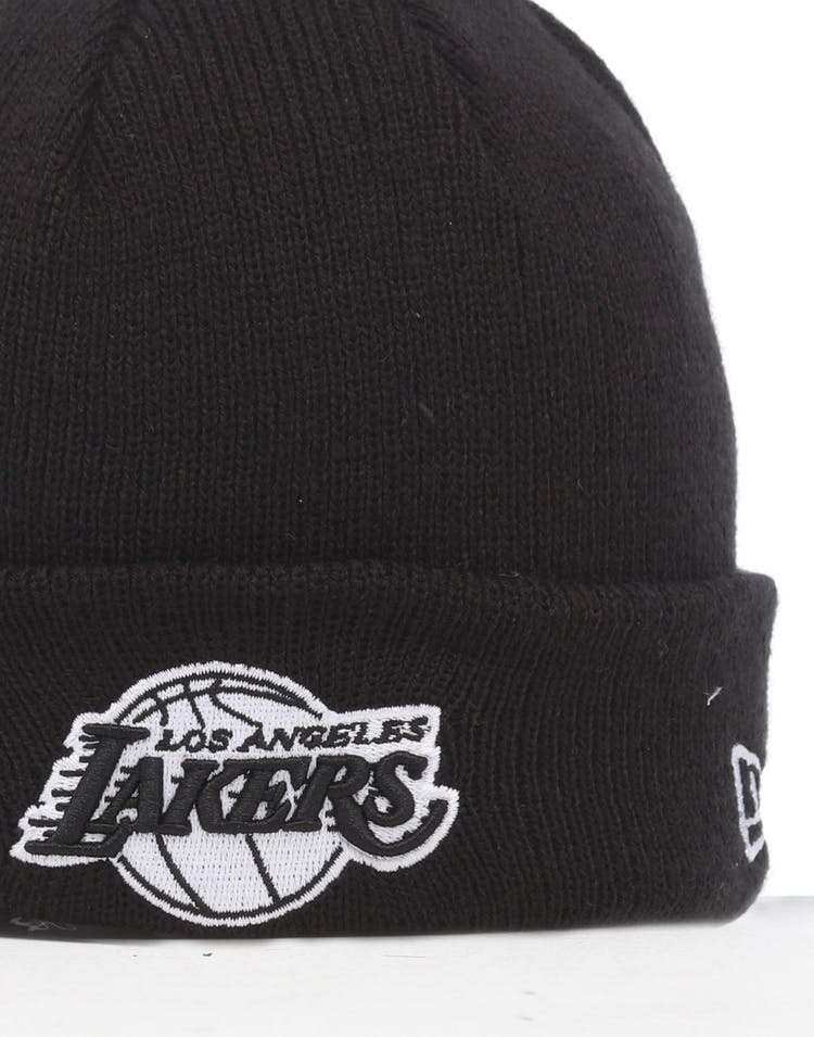 Infant Los Angeles Lakers 6 Dart Cuff Beanie