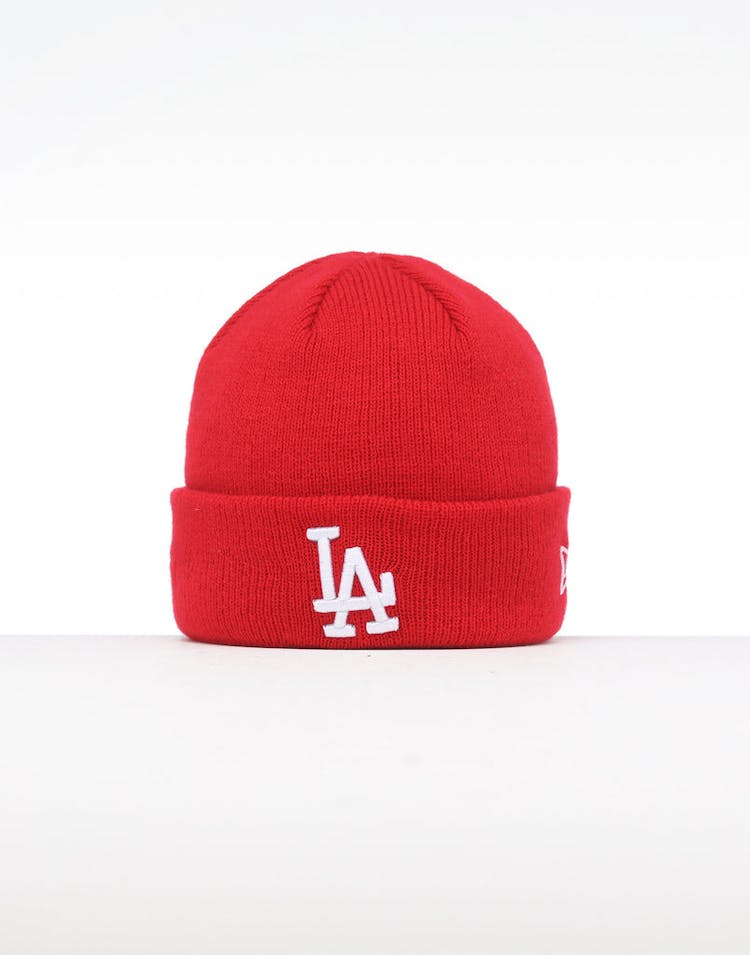 the best attitude 62c26 9168e New Era Infant Los Angeles Dodgers 6 Dart Cuff Beanie Scarlet White –  Culture Kings
