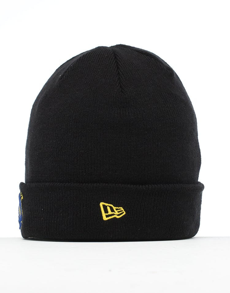 New Era Golden State Warriors 6 Dart Cuff Beanie Black/OTC