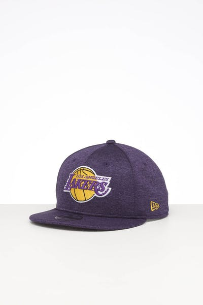 New Era Kids Los Angeles Lakers 9FIFTY Original Fit Snapback Purple Shadow Tech