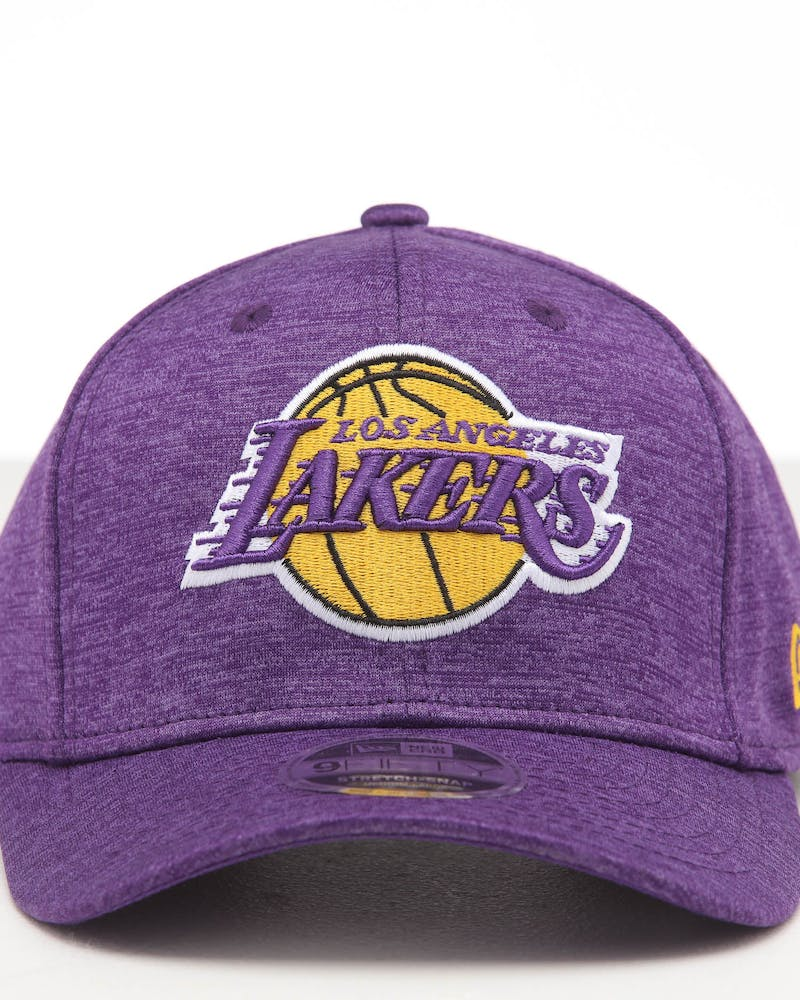 New Era Los Angeles Lakers 9FIFTY Stretch Snapback Purple Shadow Tech