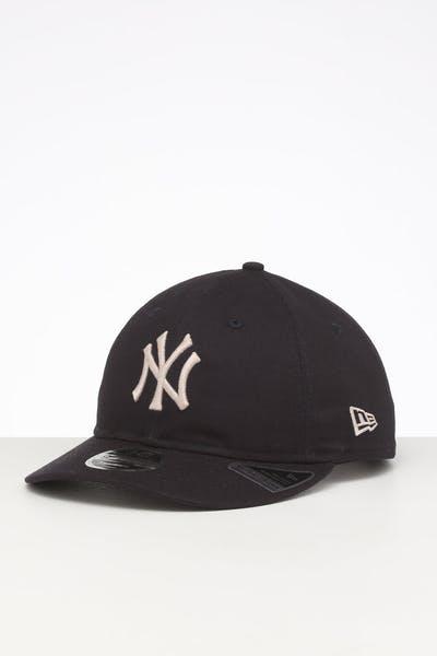 2decd0d261d68 New Era New York Yankees 9FIFTY Retro Crown Snapback Navy ...