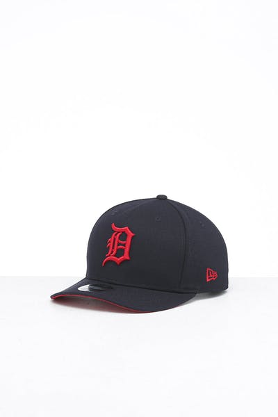 New Era Detroit Tigers 9FIFTY Original Fit Precurved Snapback Navy/Scarlet