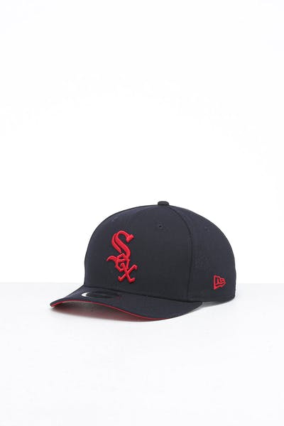 New Era Chicago White Sox 9FIFTY Original Fit Precurved Snapback Navy/Scarlet