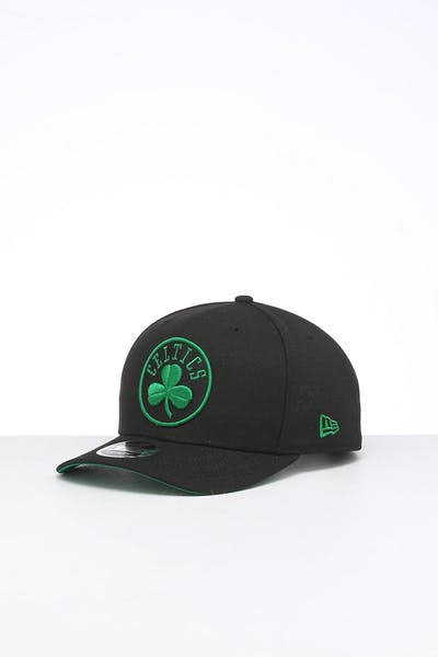New Era Boston Celtics 9FIFTY Original Fit Precurved Snapback Black/OTC