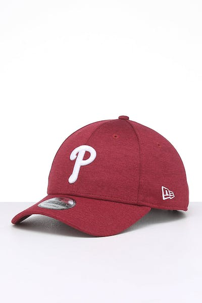 New Era Philadelphia Phillies 9FORTY Pip Pop Snapback Cardinal Marle