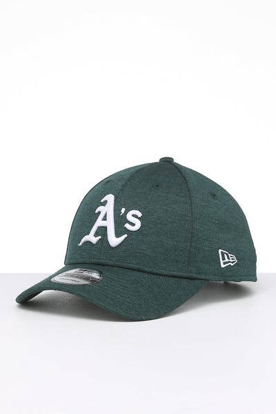 New Era Oakland Athletics 9FORTY Pip Pop Snapback Dark Green Marle