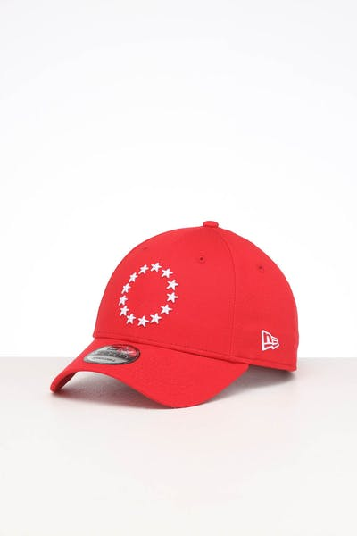 New Era Philadelphia 76ers 9FORTY POP Cloth Strapback Scarlet