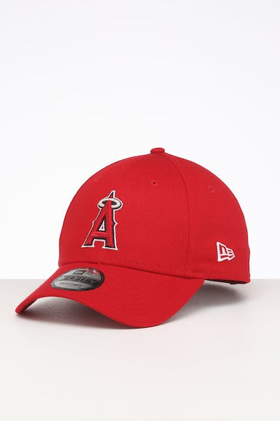 New Era Los Angeles Angels 9FORTY Cloth Strapback Red/OTC