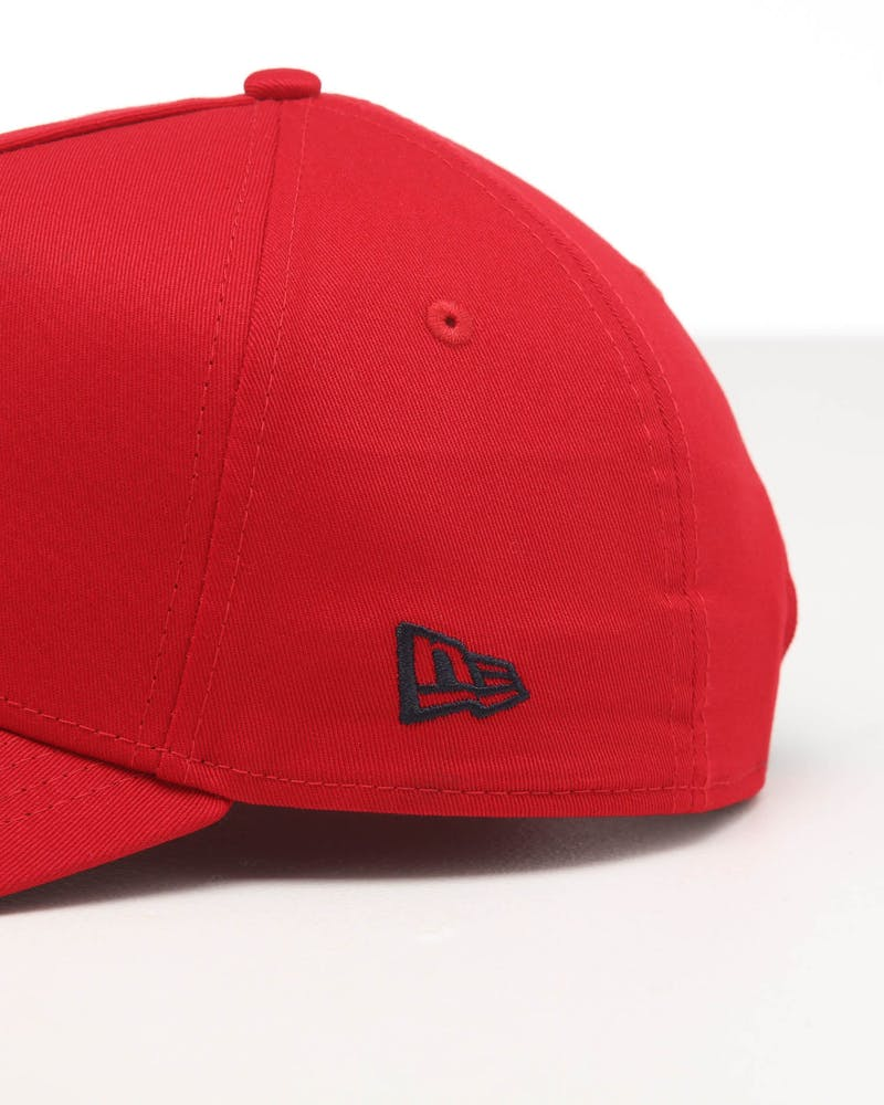 New Era Los Angeles Dodgers 9FORTY A-Frame Snapback Scarlet/Navy