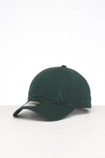 New Era Oakland Athletics 9TWENTY Fless Strapback Dark Green