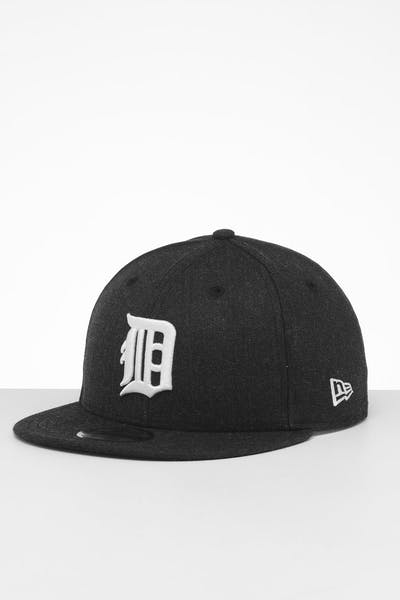 New Era Detroit Tigers 9FIFTY Snapback Black Heather