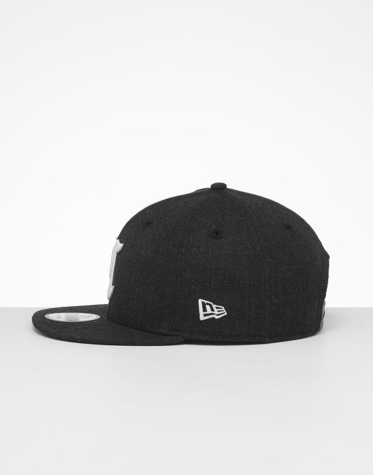 New Era Cincinnati Reds 9FIFTY Snapback Black Heather