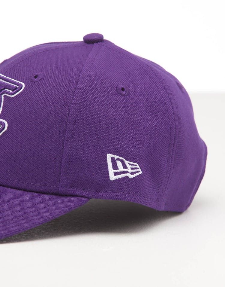 New Era Kids Los Angeles Lakers 9FORTY POP Hook & Loop Purple