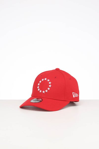 New Era Kids Philadelphia 76ers 9FORTY POP Hook & Loop Scarlet