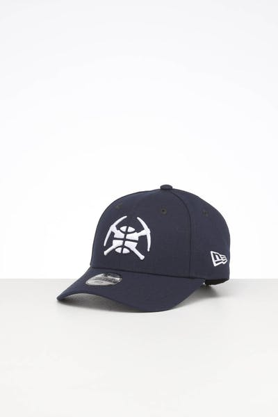 New Era Kids Denver Nuggets 9FORTY POP Hook & Loop Dark Royal