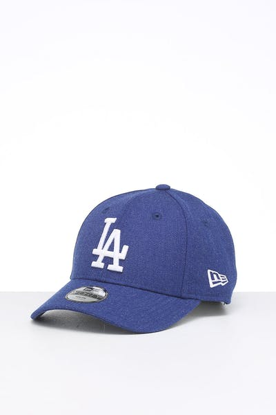 New Era Kids Los Angeles Dodgers 9FORTY Hook & Loop Heather Royal