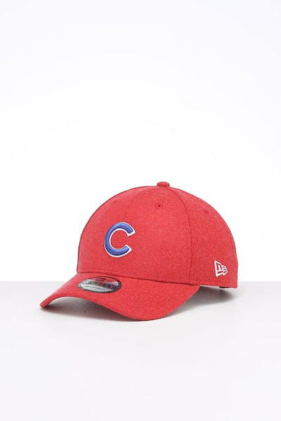 New Era Chicago Cubs 9FORTY Snapback Scarlet Heather