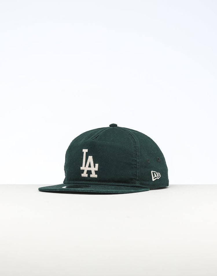 b2947c51a5bb83 New Era | Los Angeles Dodgers Cap Dark Green/Ivory | Mens | Flats – Culture  Kings