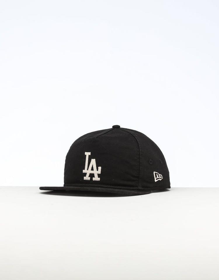 10f28fdf New Era Los Angeles Dodgers The Old Golfer Chainstitch Snapback Black/Ivory