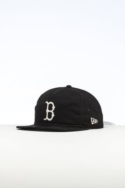 12b101c69fb33 New Era Boston Redsox The Old Golfer Chainstitch Snapback Black Ivory