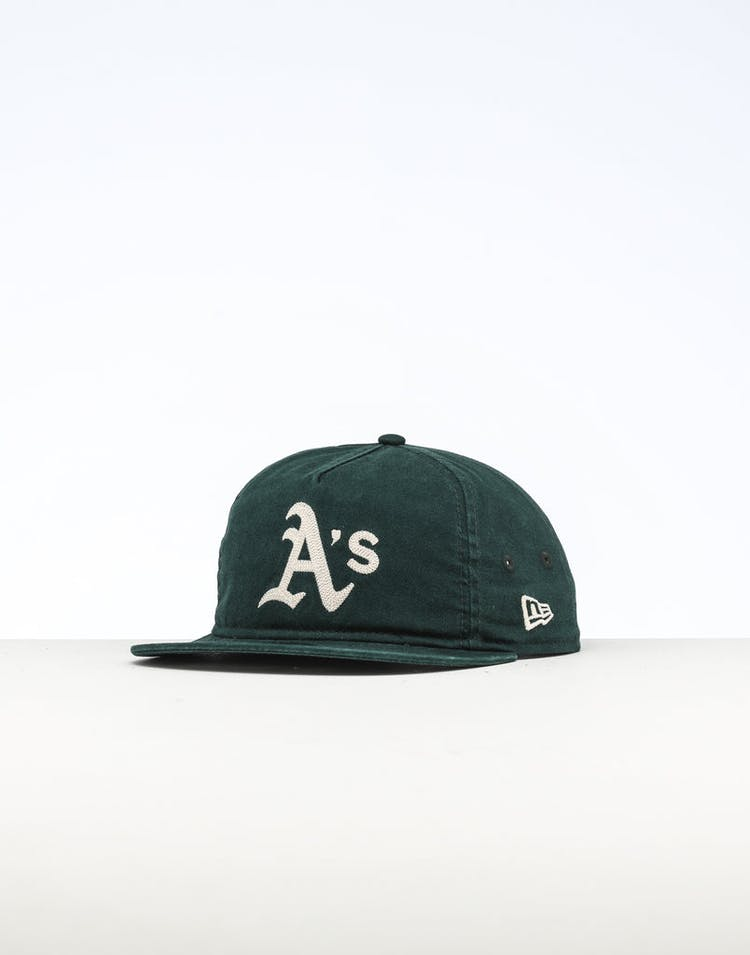 a7bcf8cf236acd New Era Oakland Athletics The Old Golfer Chainstitch Snapback Dark Gre –  Culture Kings