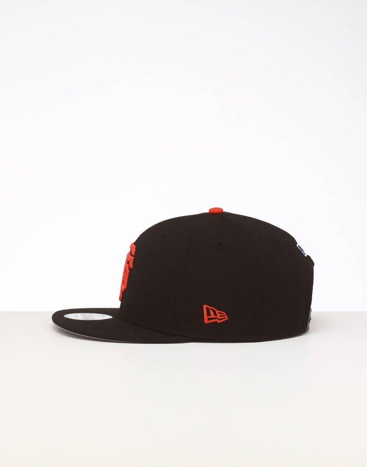 4ab7cc352 New Era San Francisco Giants 9FIFTY SWAROVSKI '10 Snapback Black/Orange