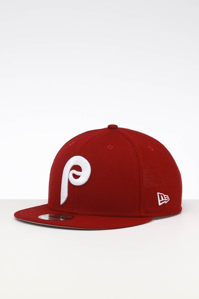 New Era Philadelphia Phillies 9FIFTY SWAROVSKI '80 Snapback Maroon