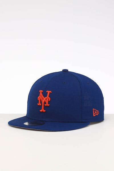 newest 3a6ed e99e1 New Era New Jersey Mets 9FIFTY SWAROVSKI  86 Snapback Royal ...