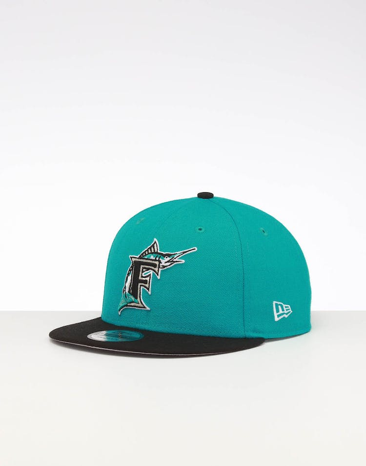 d351ba9319e93 New Era | Miami Marlins 9FIFTY SWAROVSKI '97 Snapback Teal/Black | Men –  Culture Kings