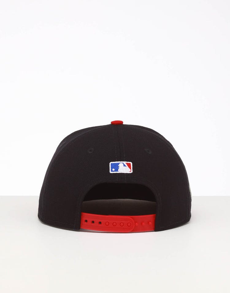 New Era Atlanta Braves 9FIFTY SWAROVSKI '95 Snapback Navy/OTC