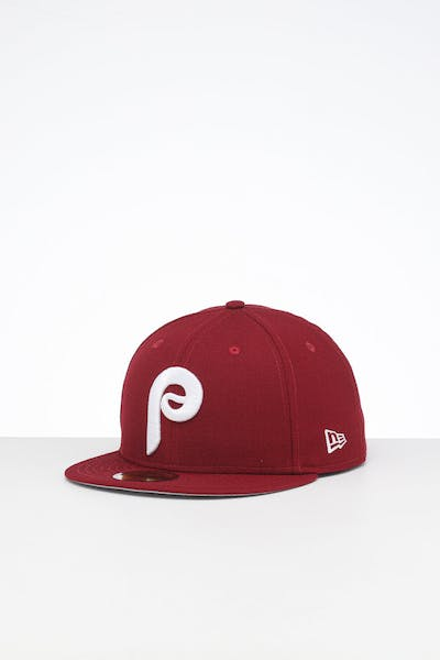 New Era X Swarovski Philadelphia Phillies '80 59FIFTY Fitted Maroon