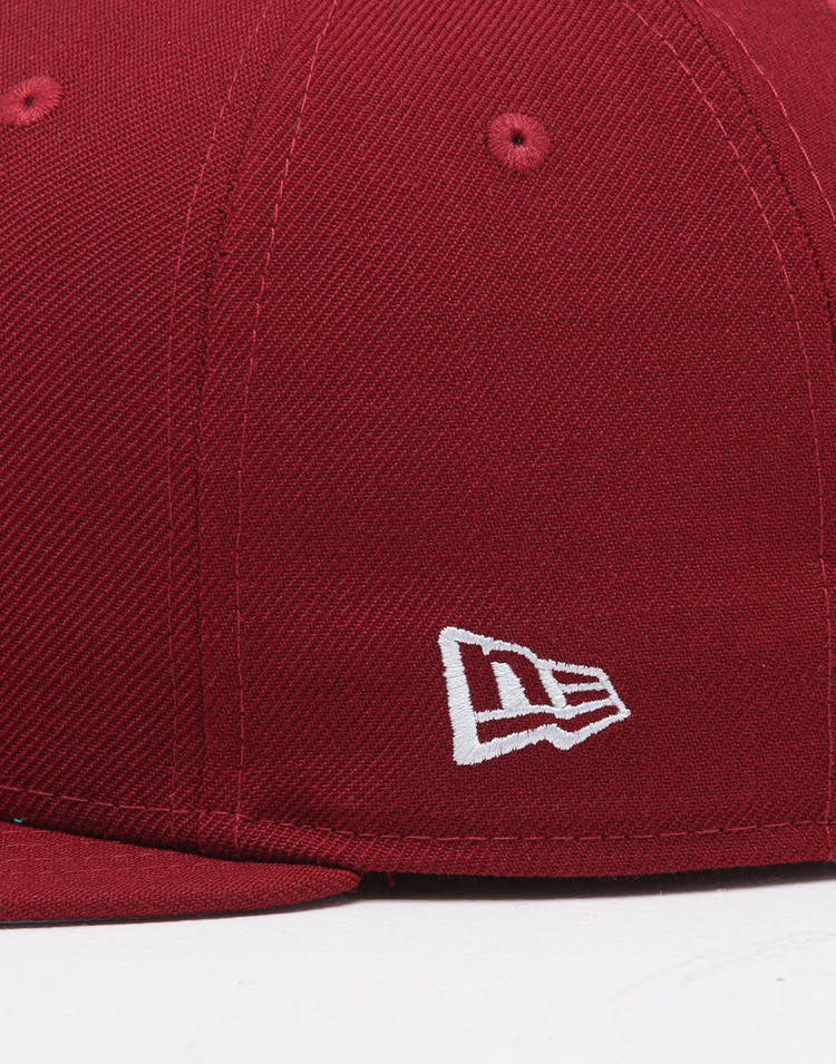 5c33b96bb New Era X Swarovski Philadelphia Phillies '80 59FIFTY Fitted Maroon