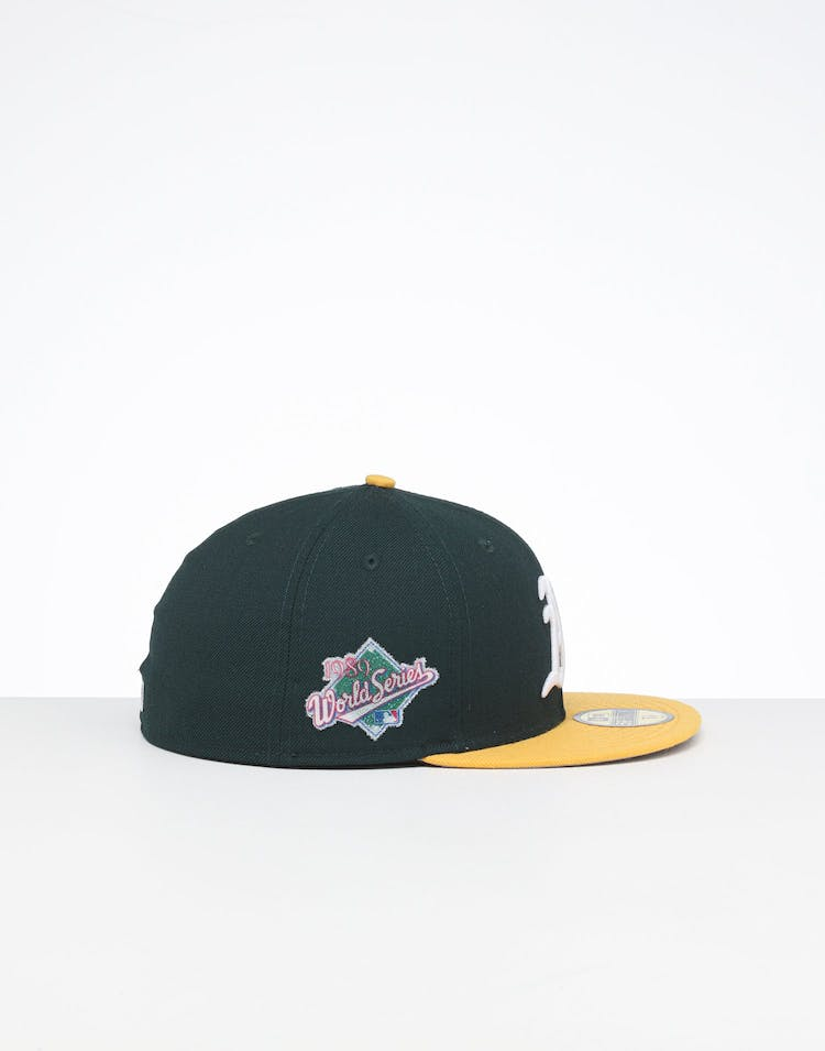 buy sale available performance sportswear New Era X Swarovski Oakland Athletics '89 59FIFTY Fitted Green ...