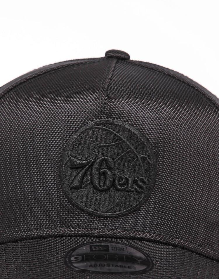 190c5c6a New Era Philadelphia 76ers 9FORTY A-Frame Snapback Ballistic Nylon ...
