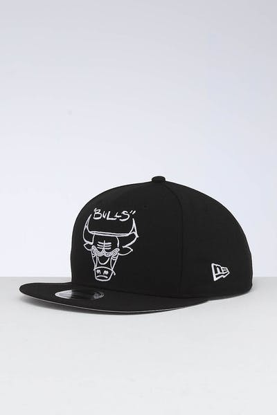 New Era Chicago Bulls 9FIFTY OF Scribble Snapback Black
