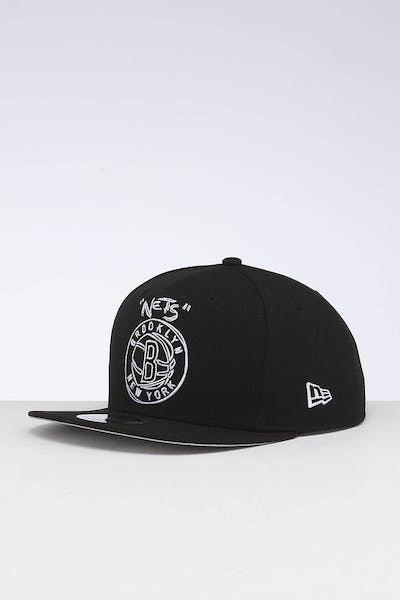 New Era Brooklyn Nets 9FIFTY OF Scribble Snapback Black