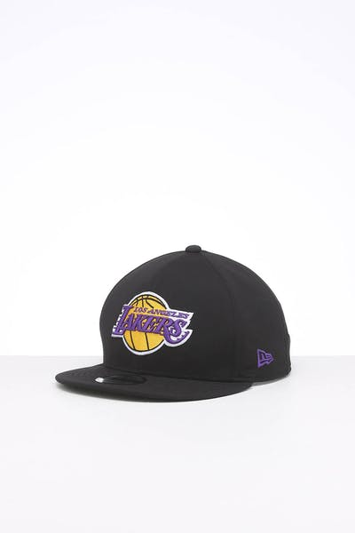 NEW ERA LOS ANGELES LAKERS 9FIFTY GORE-TEX SNAPBACK BLACK/OTC