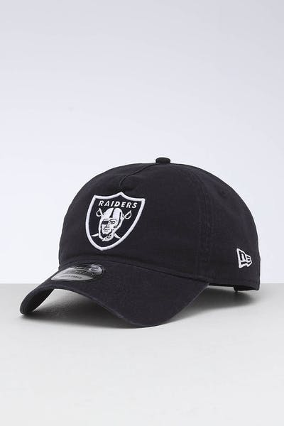 d0b9540acf0a41 New Era Raiders 9FORTY A-Frame Unstructured Snapback Washed Navy/White ...