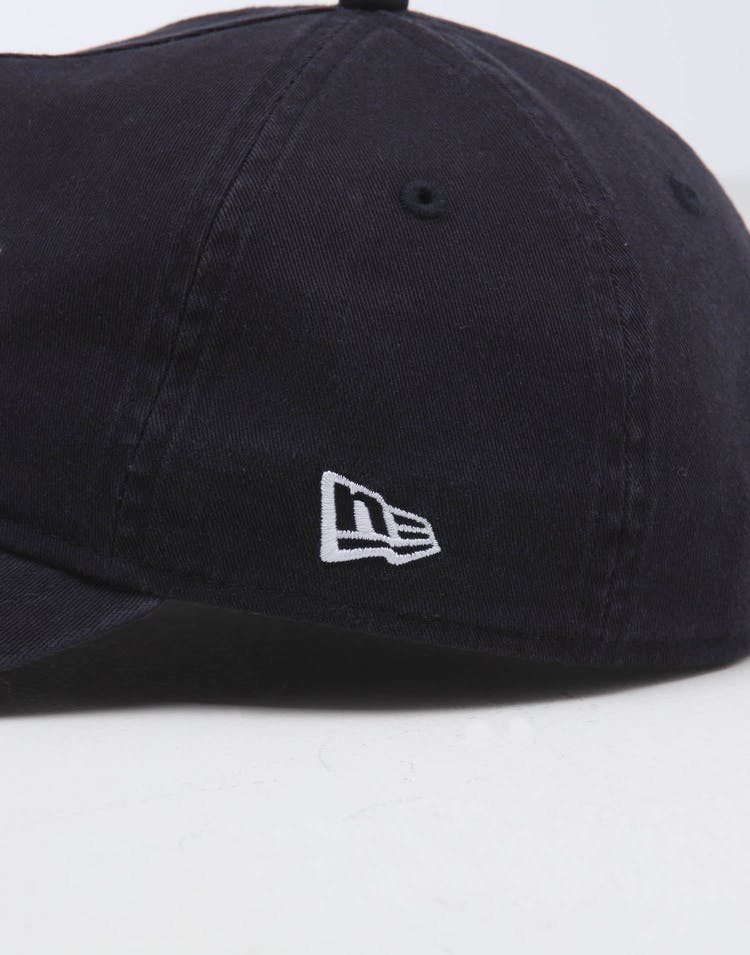 New Era Raiders 9FORTY A-Frame Unstructured Snapback Washed Navy/White