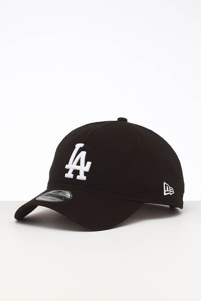 9e81d5992d4600 New Era Los Angeles Dodgers 9FORTY A-Frame Unstructured Snapback Washed  Black/White ...