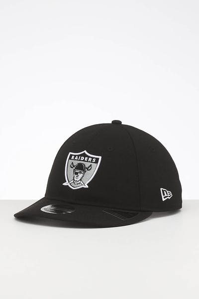 New Era Raiders 9FIFTY Retro Crown Snapback Black